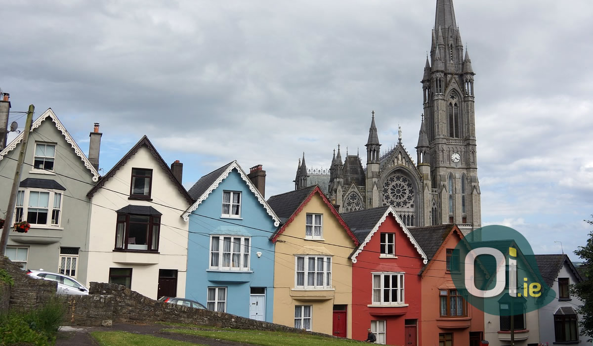 Meet Cobh, one of the most beautiful towns in Europe