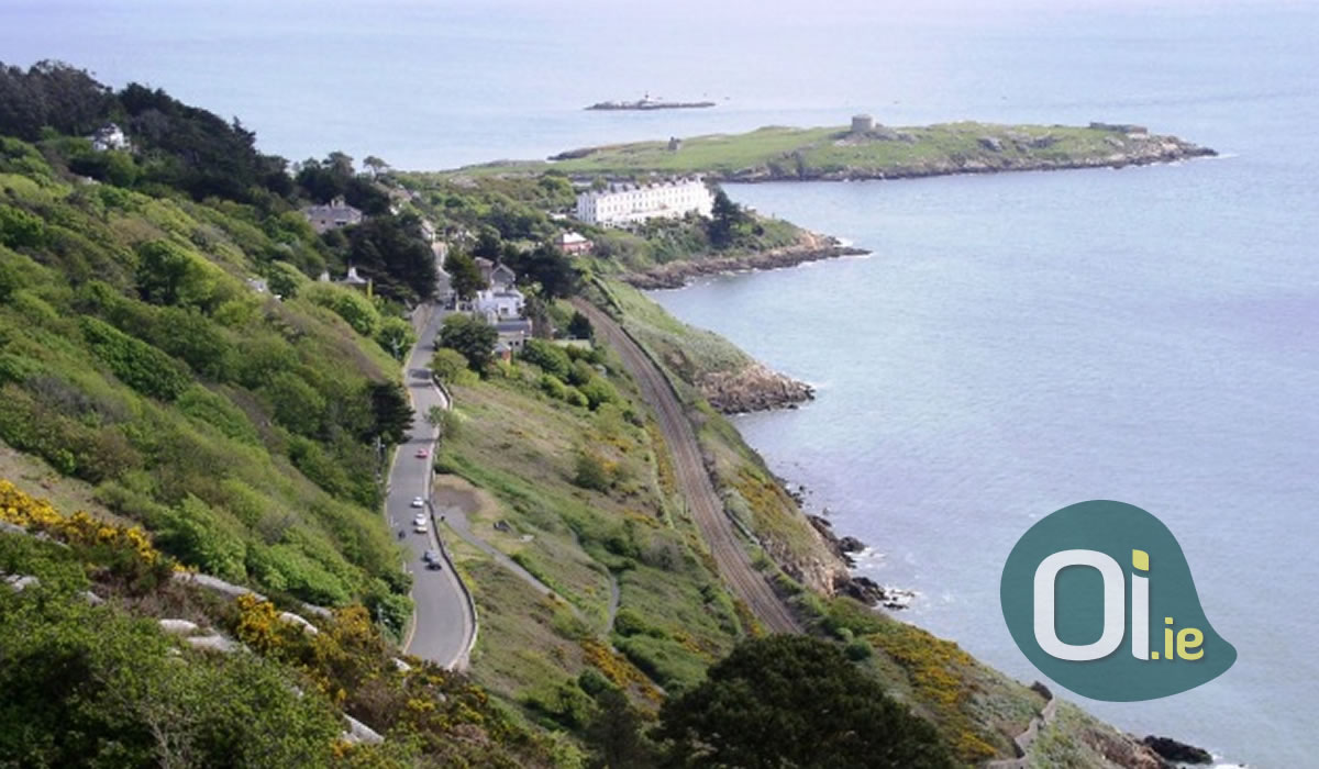 Dalkey, the home of celebrities in the south of Dublin