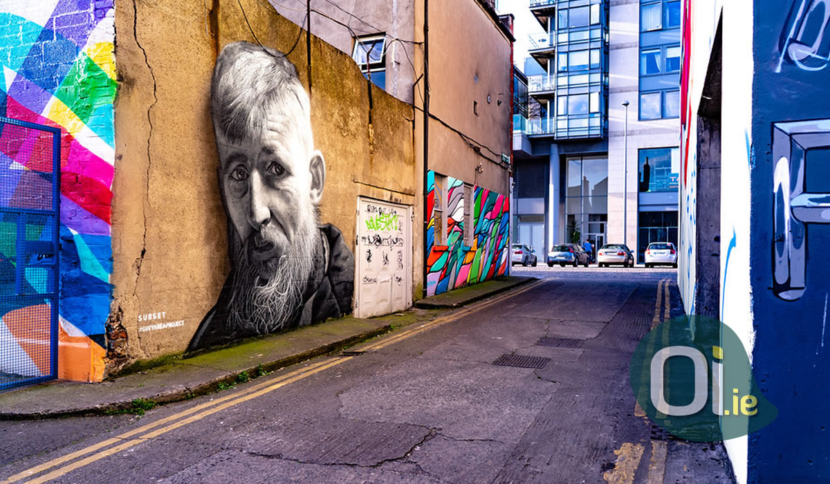 A walk through Dublin street art