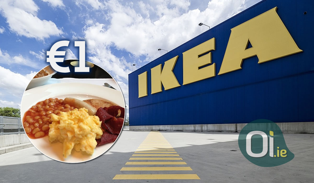 IKEA offers breakfast for just €1 in Dublin