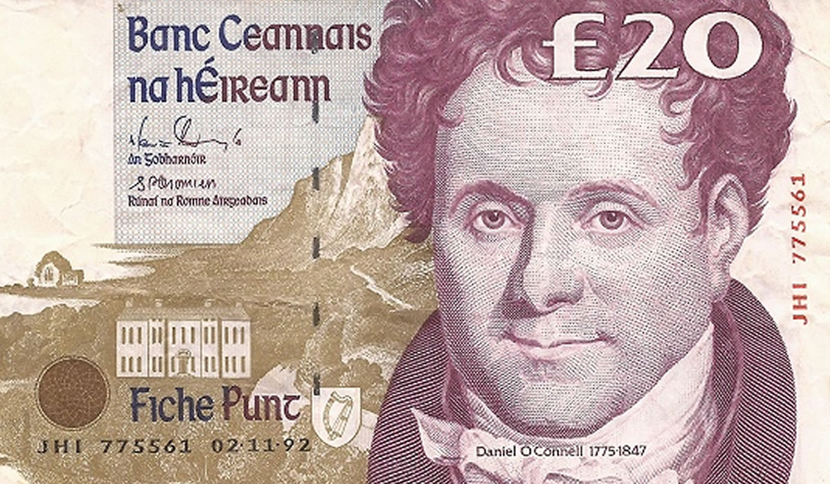 What was Ireland's currency before the euro?