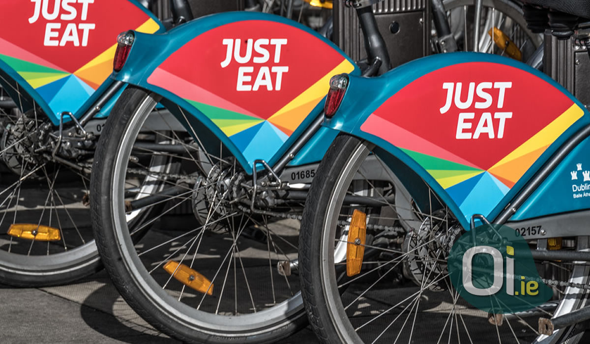 Just Eat now recruiting couriers in Ireland