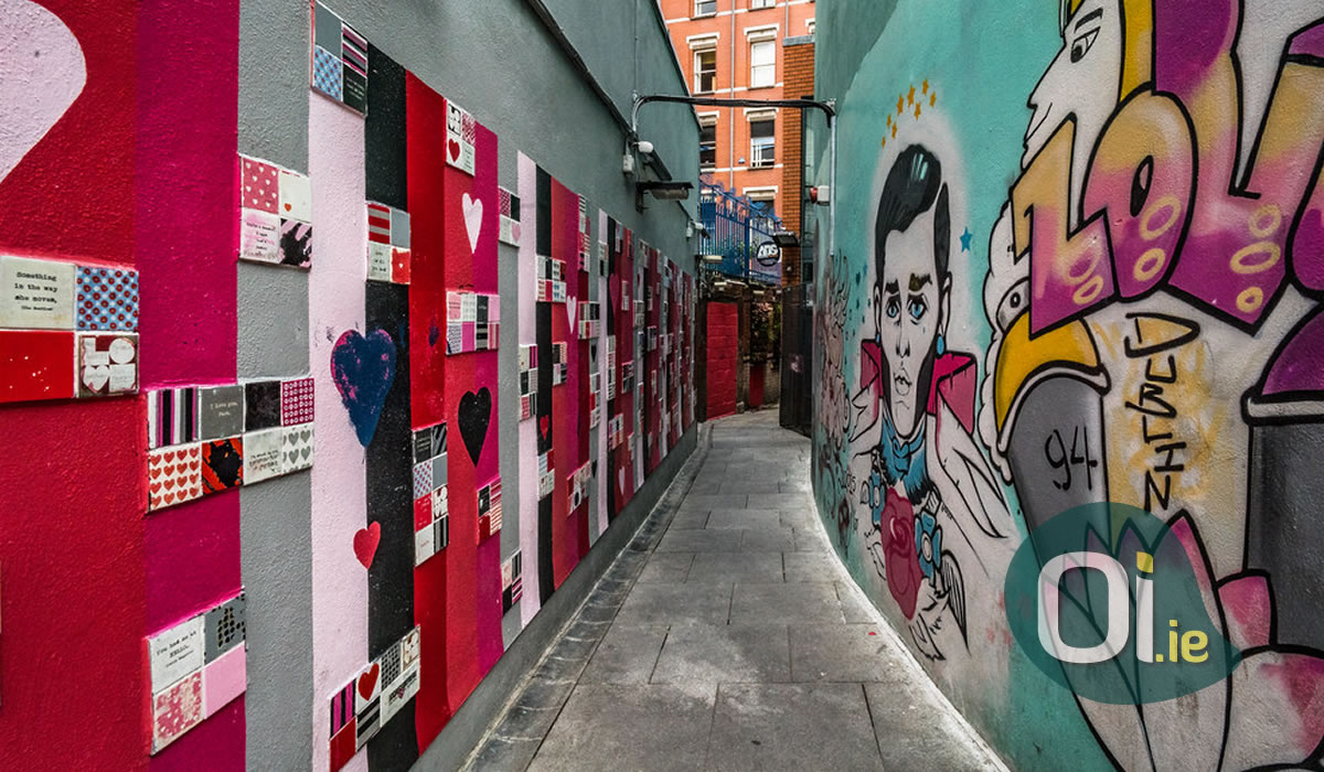 Love Lane Dublin, Template Bar