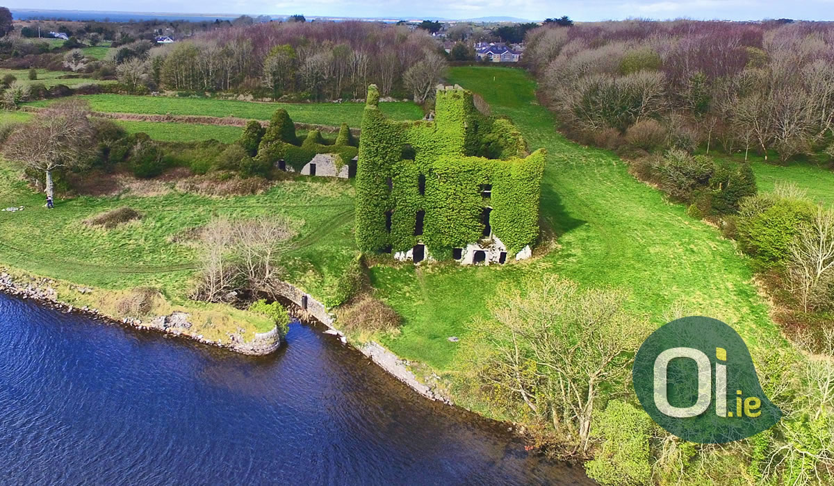 Menlo Castle, an abandoned castle on the outskirts of Galway