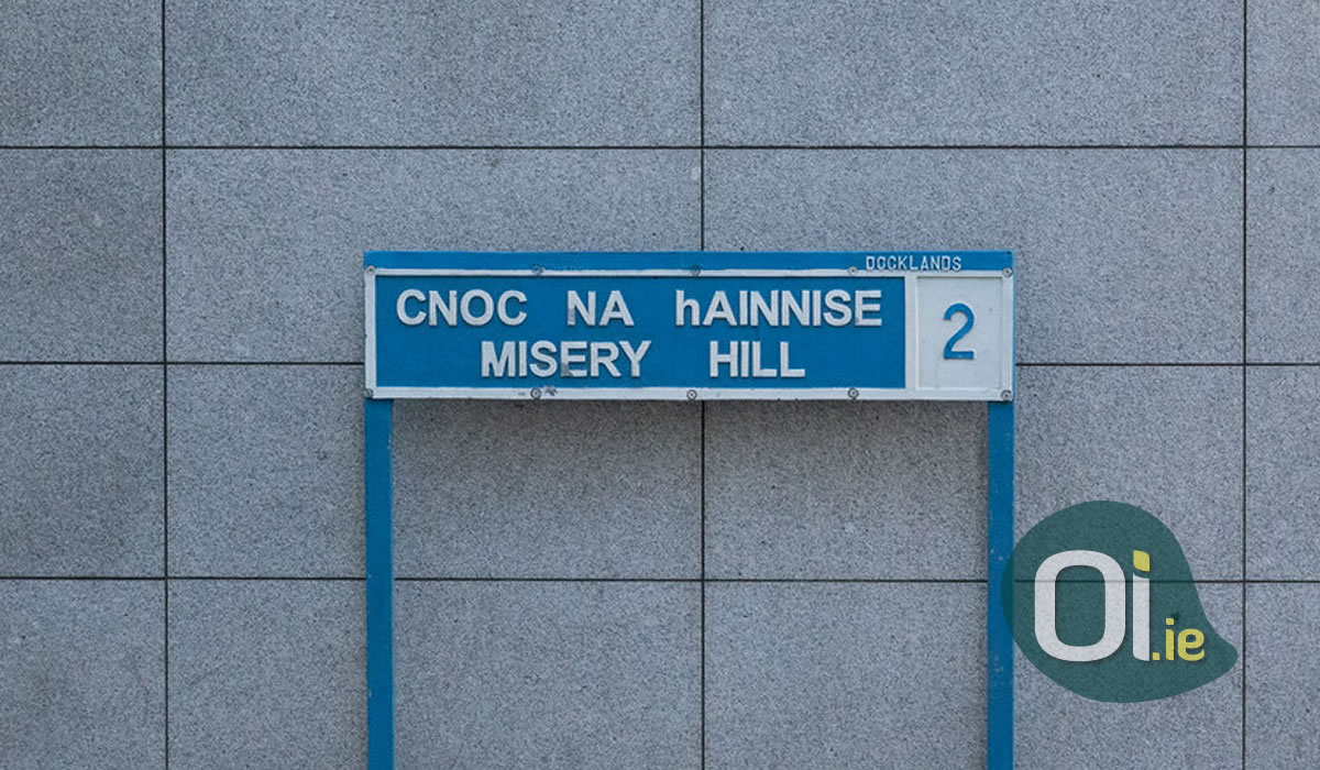 The story behind some funny street names in Dublin